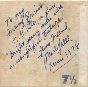 Paul Frees Autograph