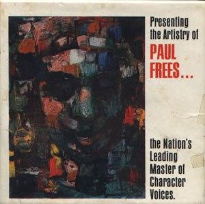 Paul Frees Album Cover